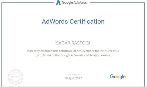 Sagar Rastogi Google Partner