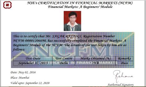 Sagar Rastogi NSE module