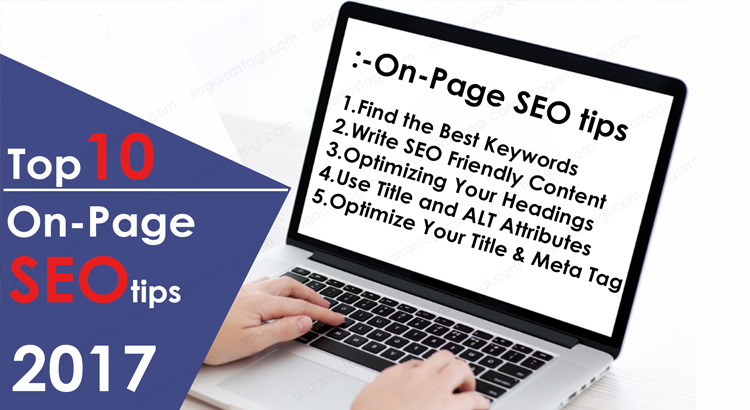 top 10 On-page SEO tips by Sagar Rastogi