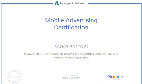 Mobile Shoppings ad by sagar rastogi